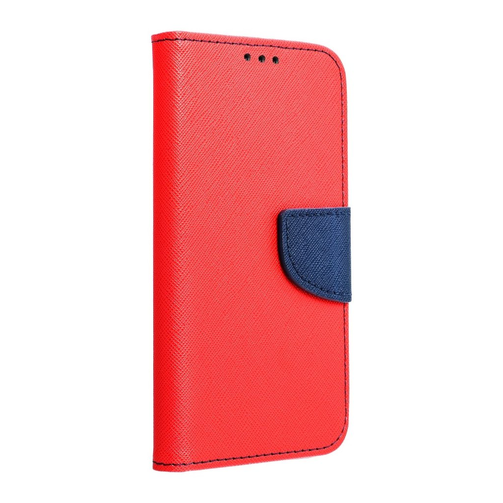 60076 fancy pouzdro book sony xperia xa1 ultra modro cervene