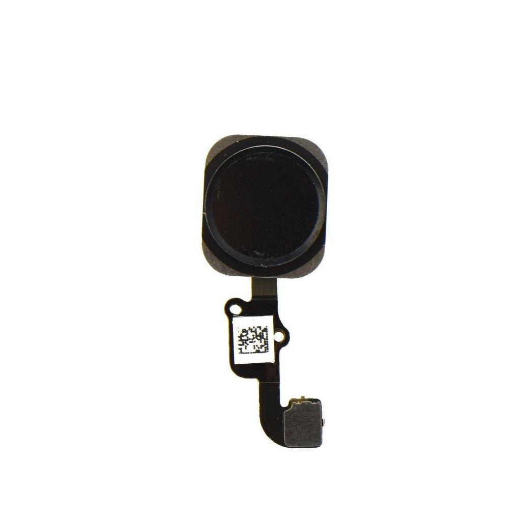 30646 2 flex kabel s klavesou home iphone 6 6 plus tlacitko cerne