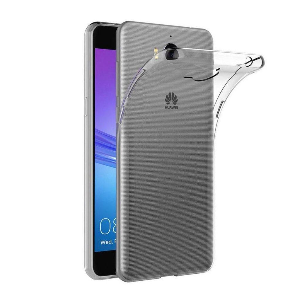 71431 1 forcell pouzdro back ultra slim 0 5mm pro huawei y5 2017 y6 2017 transparentni