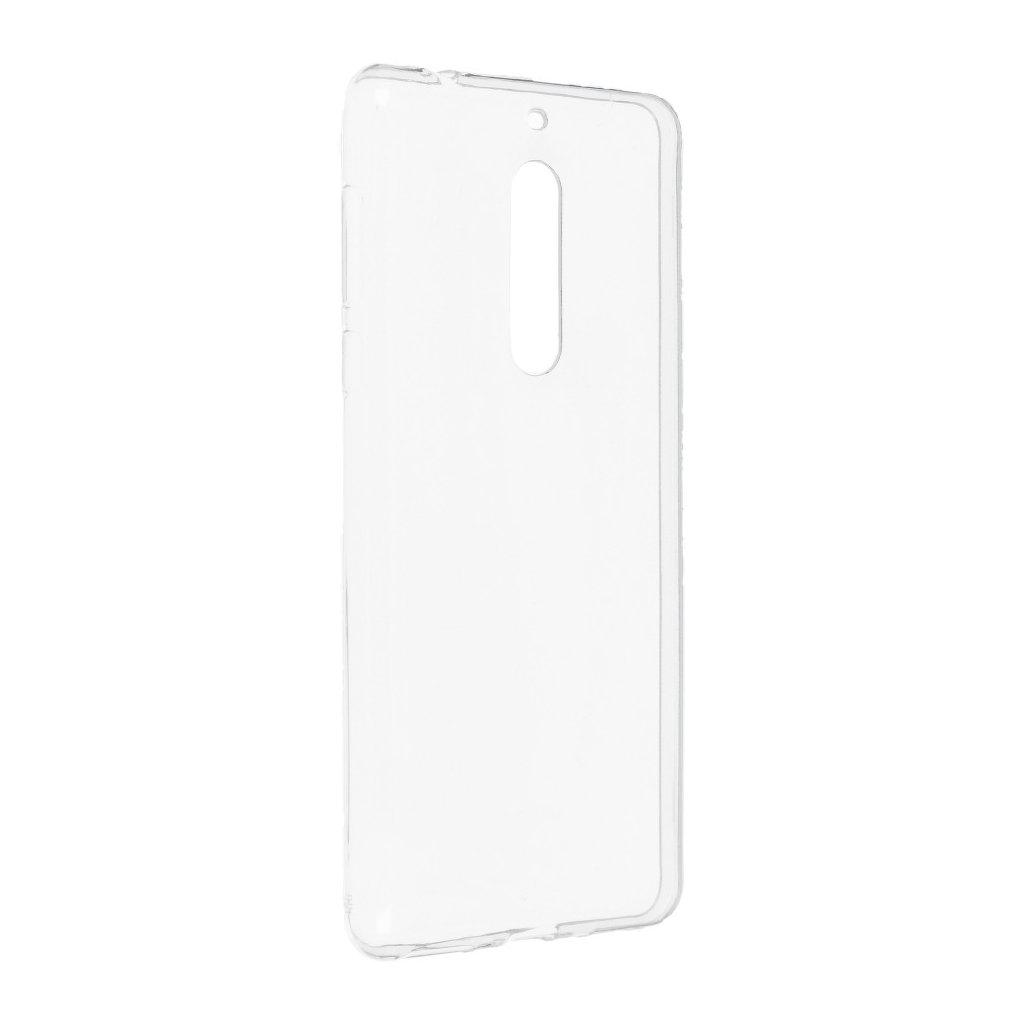 71482 forcell pouzdro back ultra slim 0 5mm pro nokia 5 transparentni
