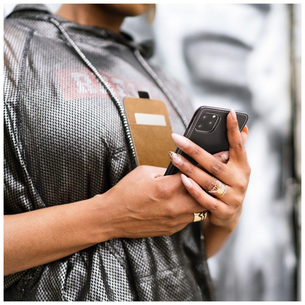 3364 forcell pouzdro slim flip flexi fresh pro apple iphone 6 plus cerne