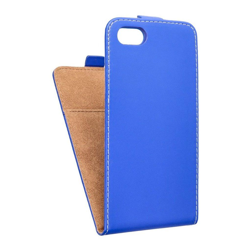 47857 forcell pouzdro slim flip flexi fresh pro apple iphone 7 7s modre