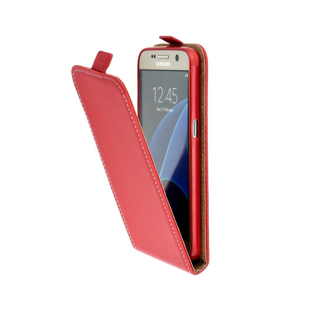 72062 forcell pouzdro slim flip flexi fresh pro apple iphone x cervene