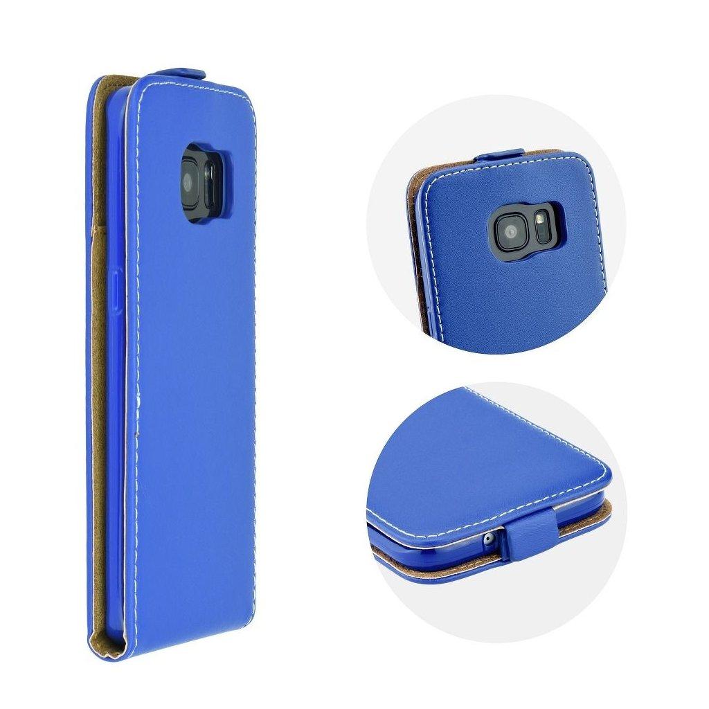 72059 forcell pouzdro slim flip flexi fresh pro apple iphone 8 modre