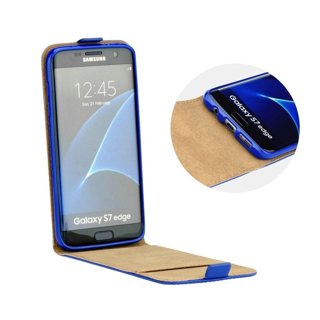 72059 1 forcell pouzdro slim flip flexi fresh pro apple iphone 8 modre
