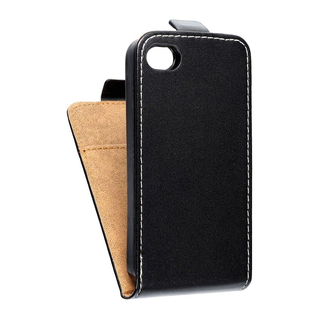 3424 3 forcell pouzdro slim flip flexi fresh pro iphone 4 4s cerne