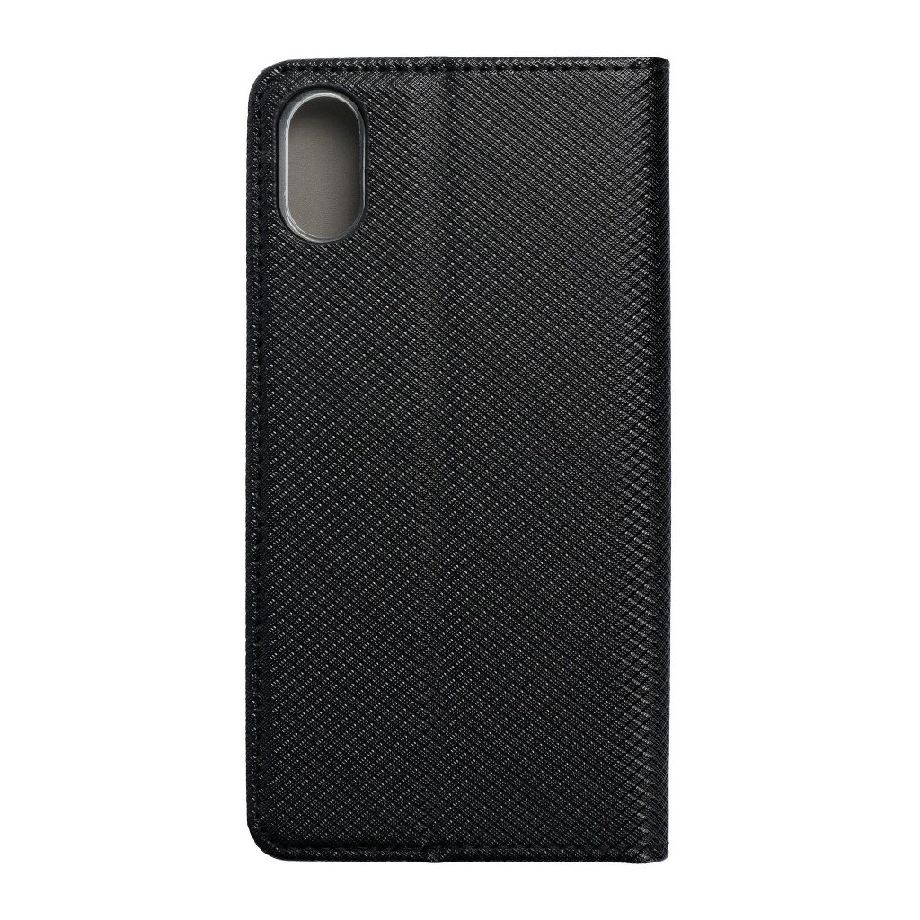 69063 2 forcell pouzdro smart case book pro apple iphone x cerne