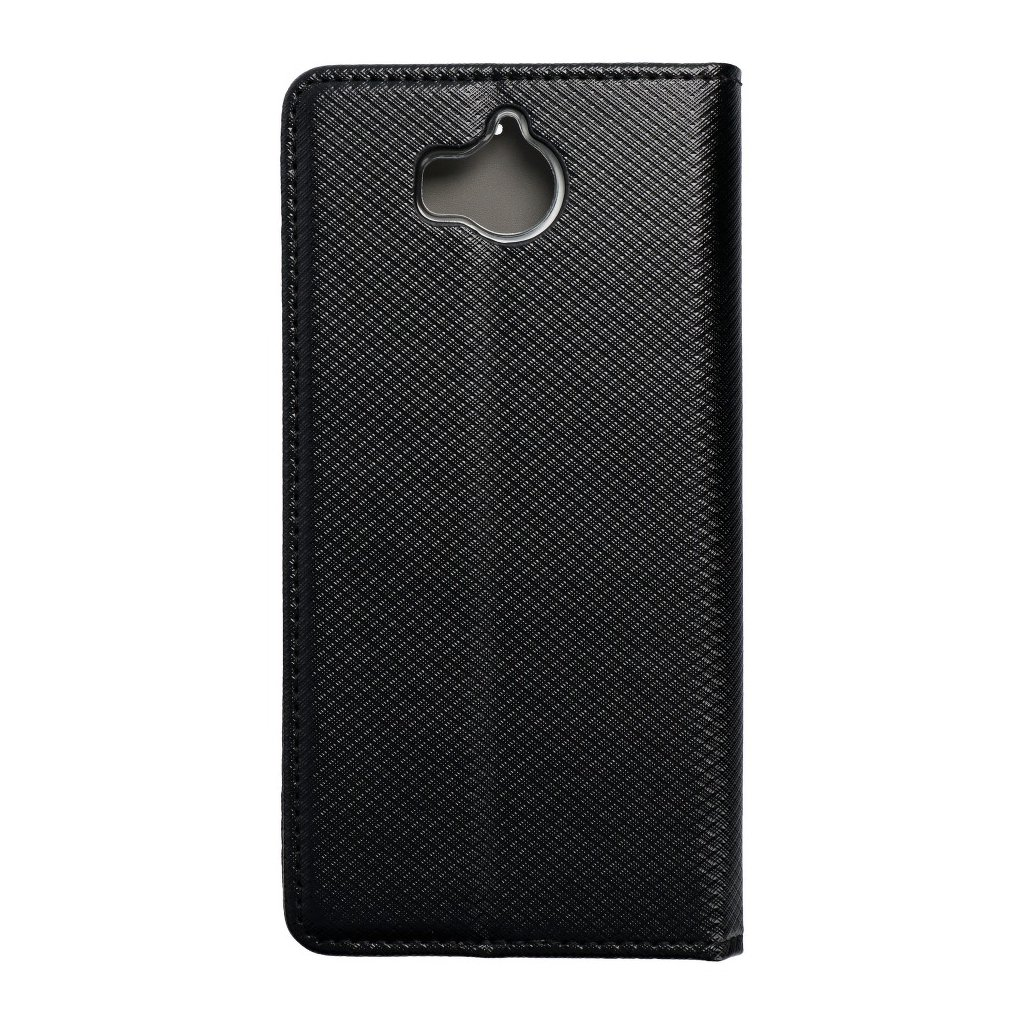 69744 2 forcell pouzdro smart case book pro huawei y6 2017 y5 2017 nova young cerne