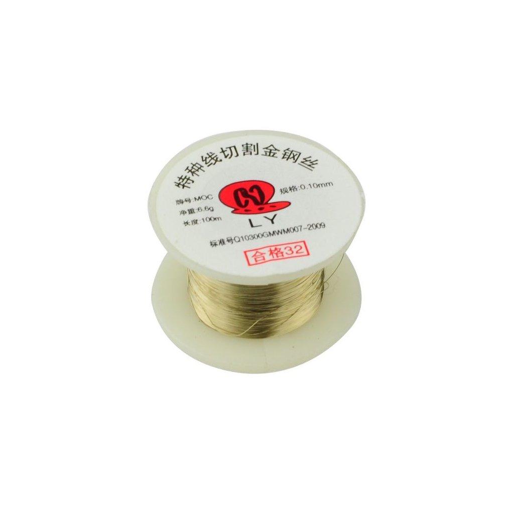 80143 molybdenovy drat pro opravy lcd displeju 100m