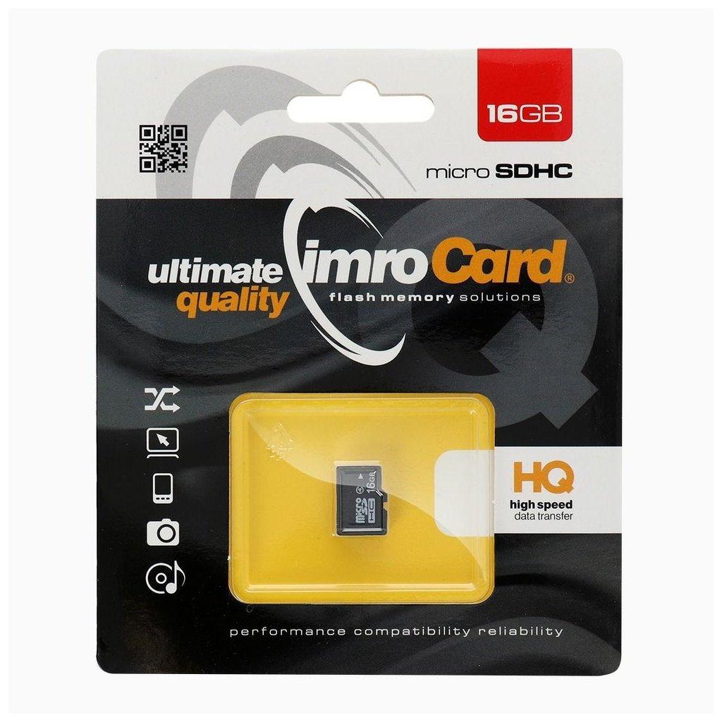 83193 1 pametova karta imro microsd 16 gb bez adapteru sd