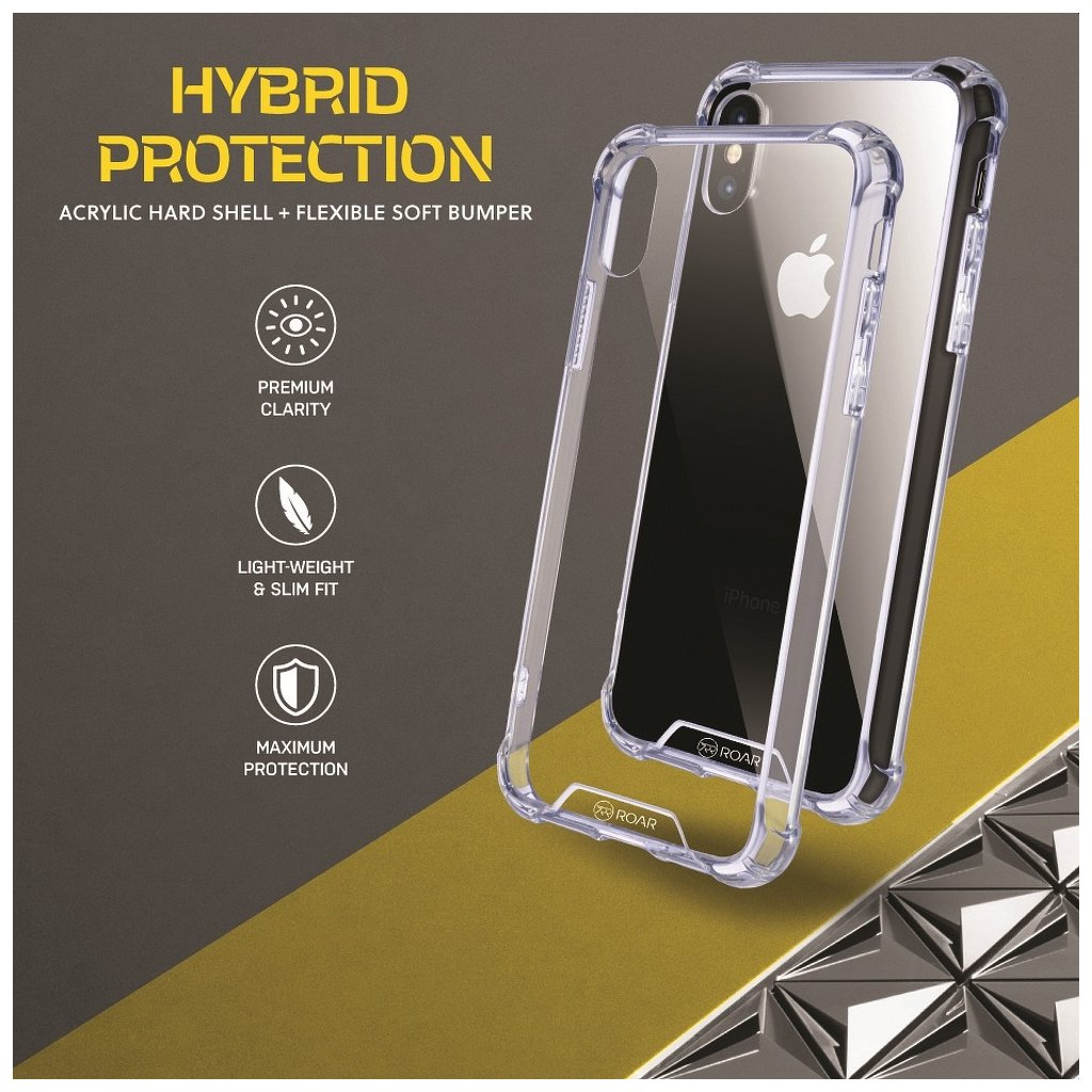 81857 1 pouzdro armor jelly roar apple iphone 6 6s transparentni