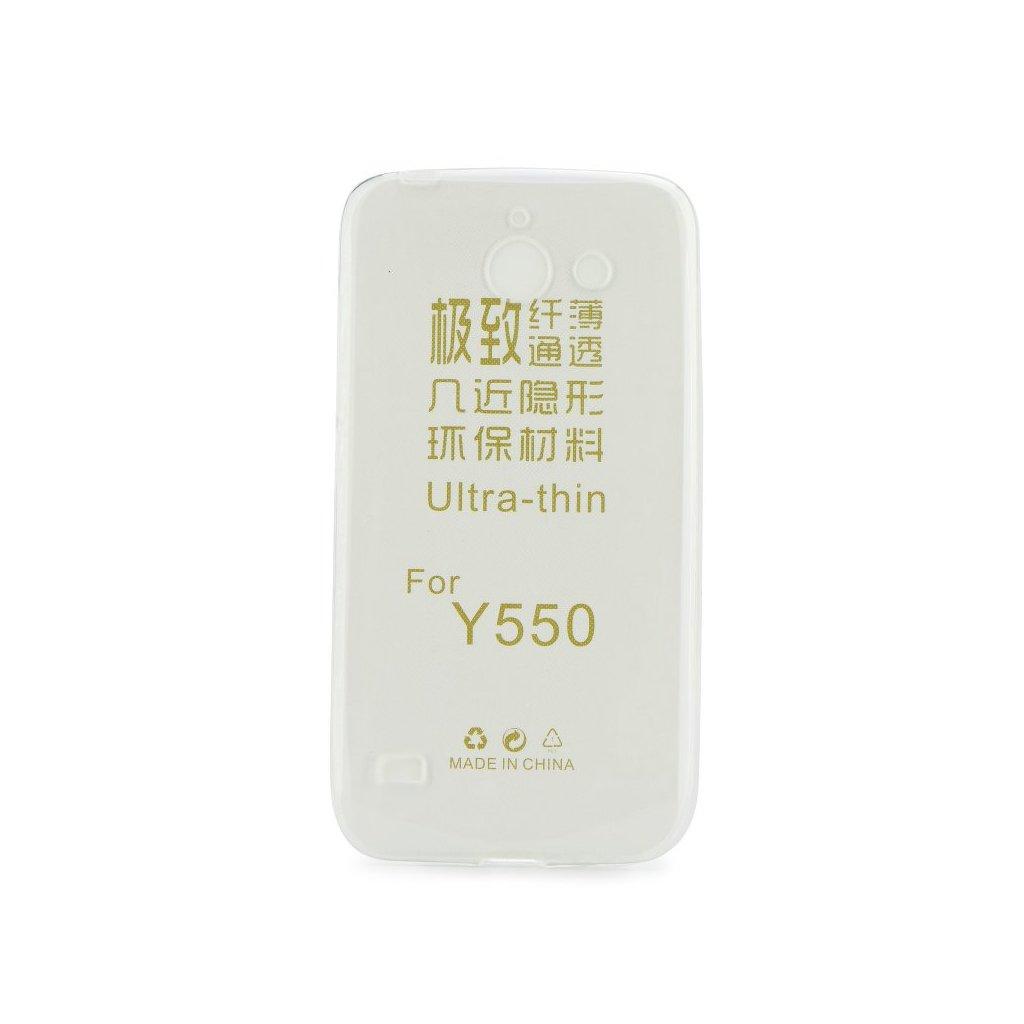 12970 1 pouzdro back case ultra slim 0 3mm huawei ascend y550 transparentni