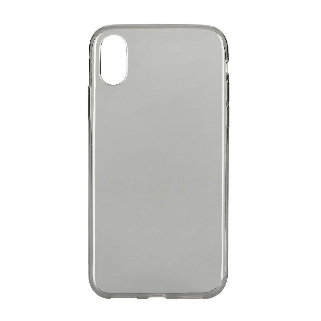 72832 1 pouzdro back case ultra slim 0 3mm apple iphone x cerne
