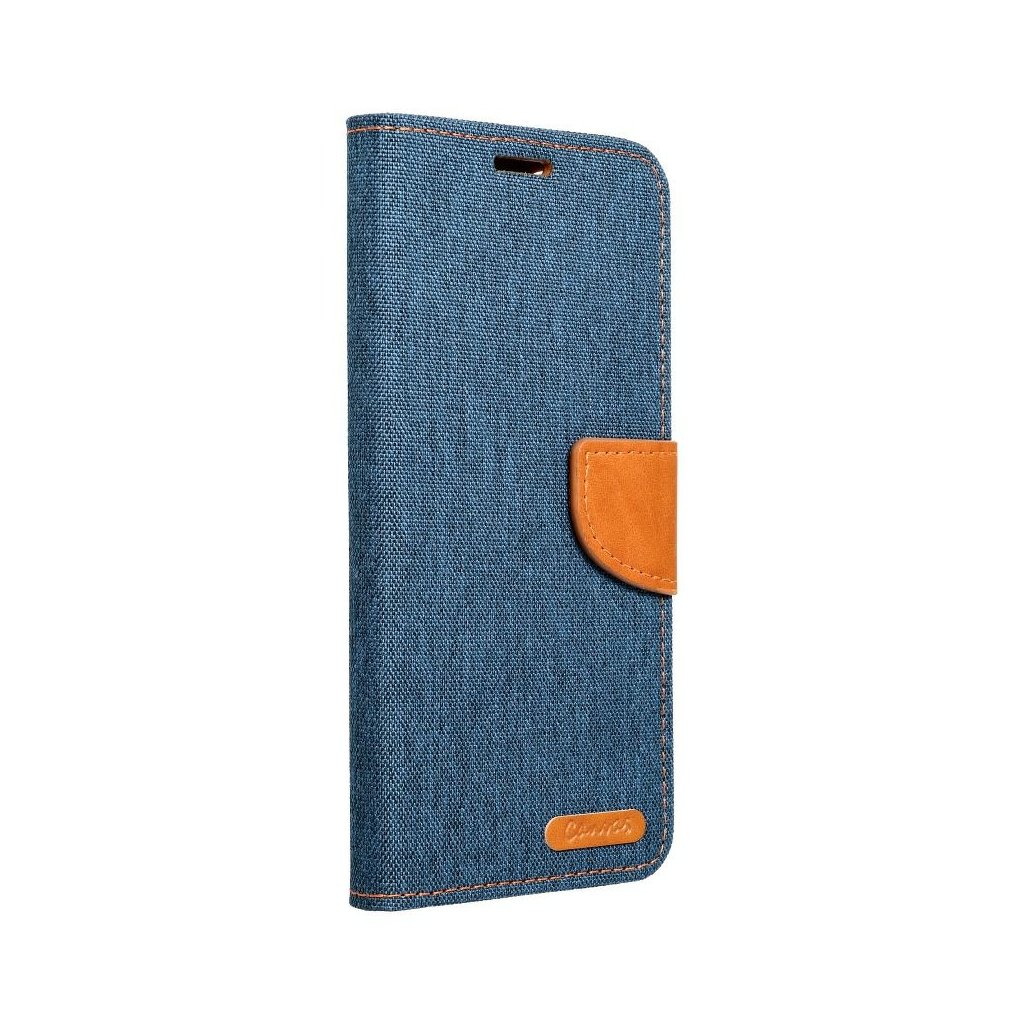 104320 3 pouzdro canvas book apple iphone xs 5 8 tmave modre