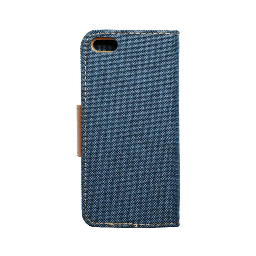 23776 pouzdro canvas mercury book apple iphone 5 5s tmave modre