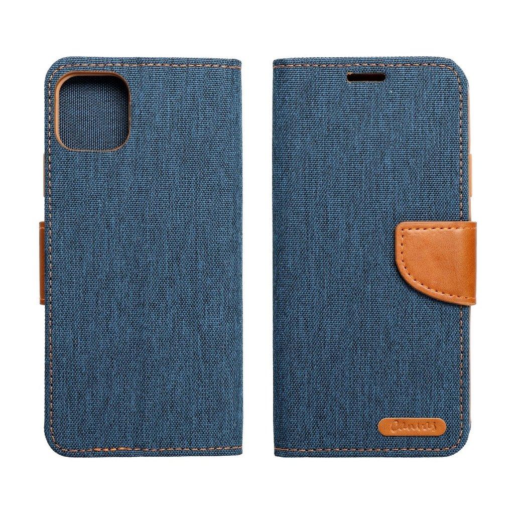 23788 2 pouzdro canvas mercury book apple iphone 6 6s tmave modre