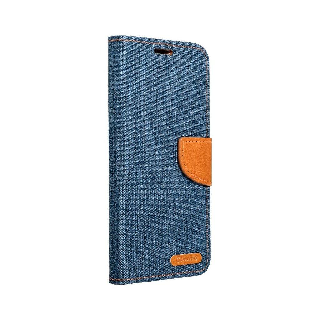 22276 pouzdro canvas mercury book huawei p8 lite tmave modre