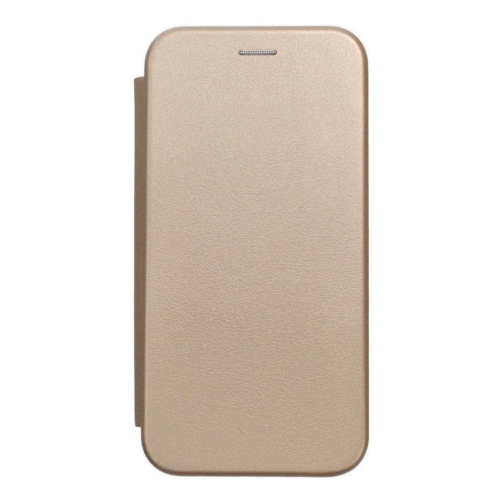 74096 1 pouzdro forcell book elegance apple iphone 8 zlate