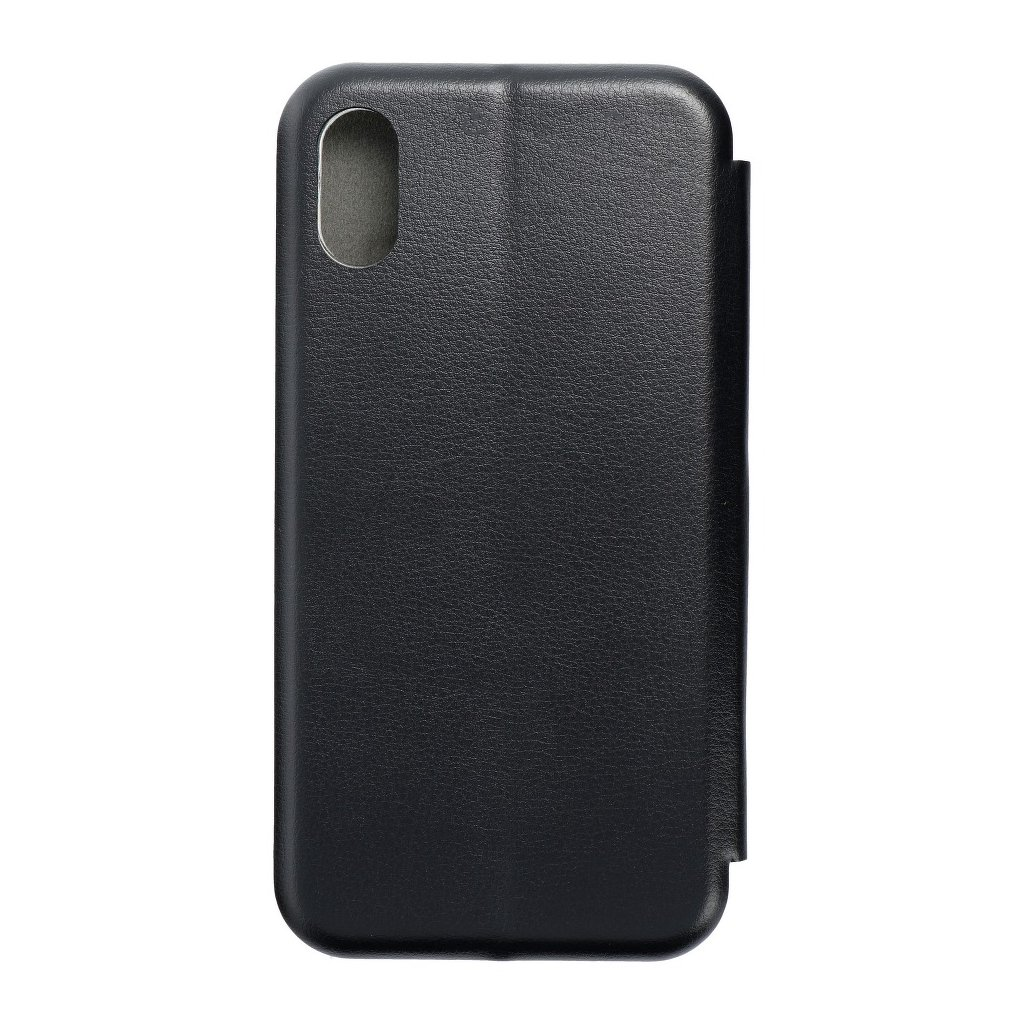 104346 3 pouzdro forcell book elegance apple iphone xs 5 8 cerne