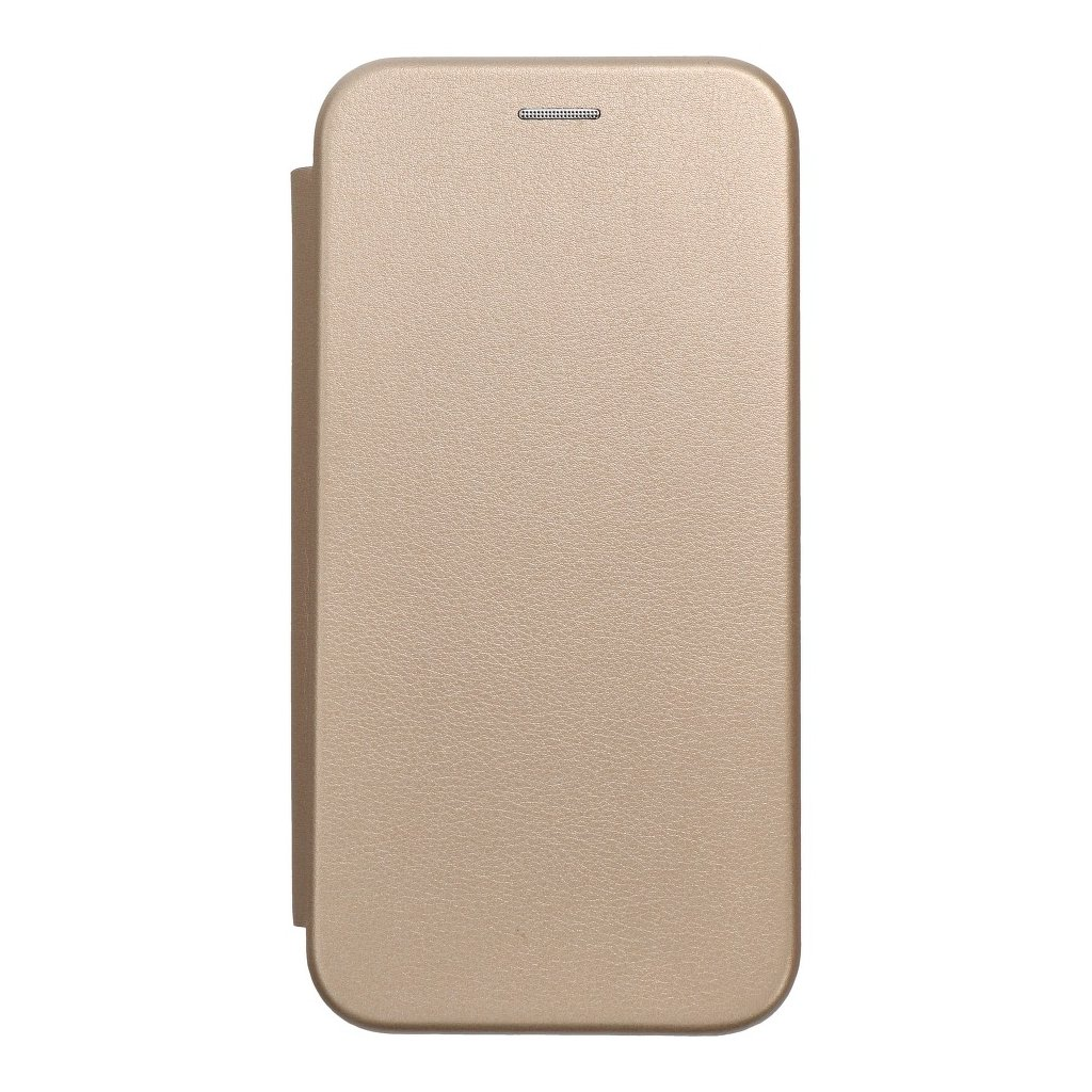 83205 pouzdro forcell book elegance samsung a6 plus zlate