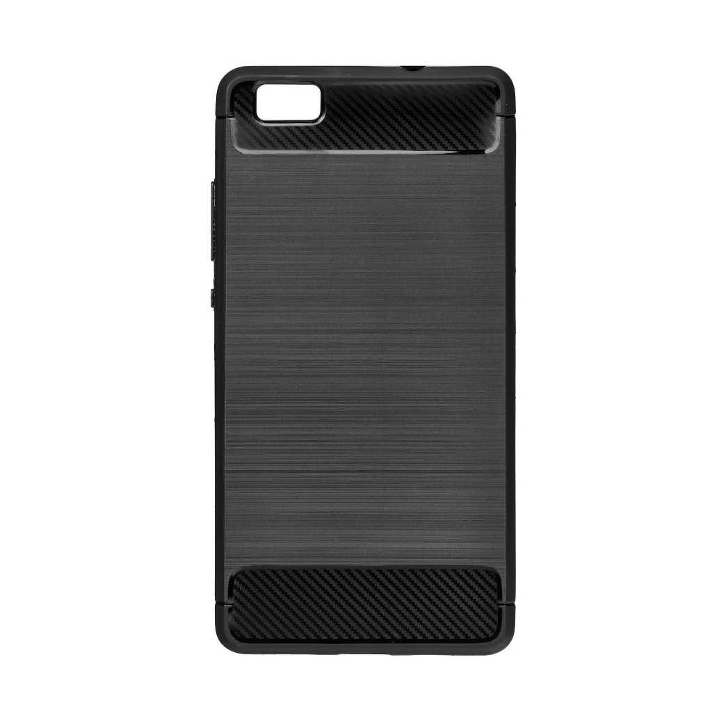 70497 1 pouzdro forcell carbon back cover pro huawei y6 2017 cerne