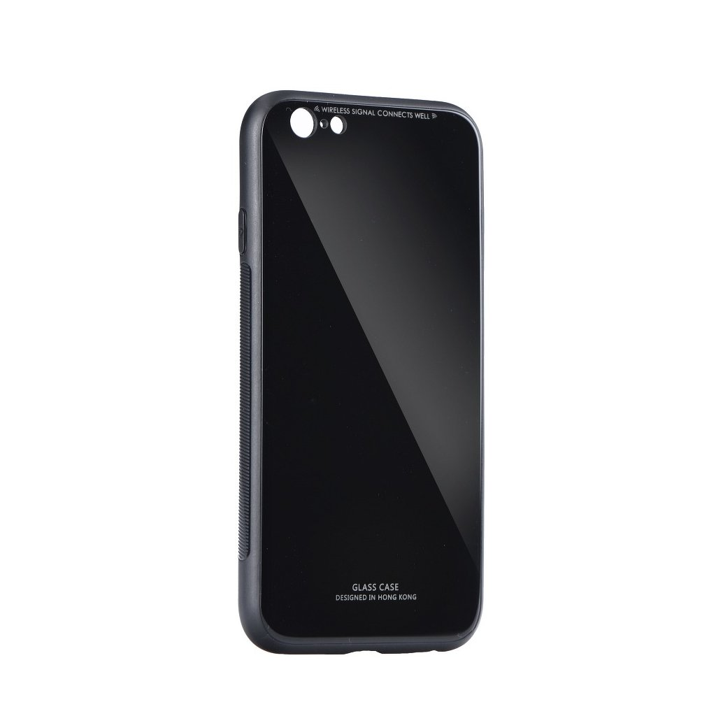 89433 pouzdro forcell glass apple iphone 6 6s cerne