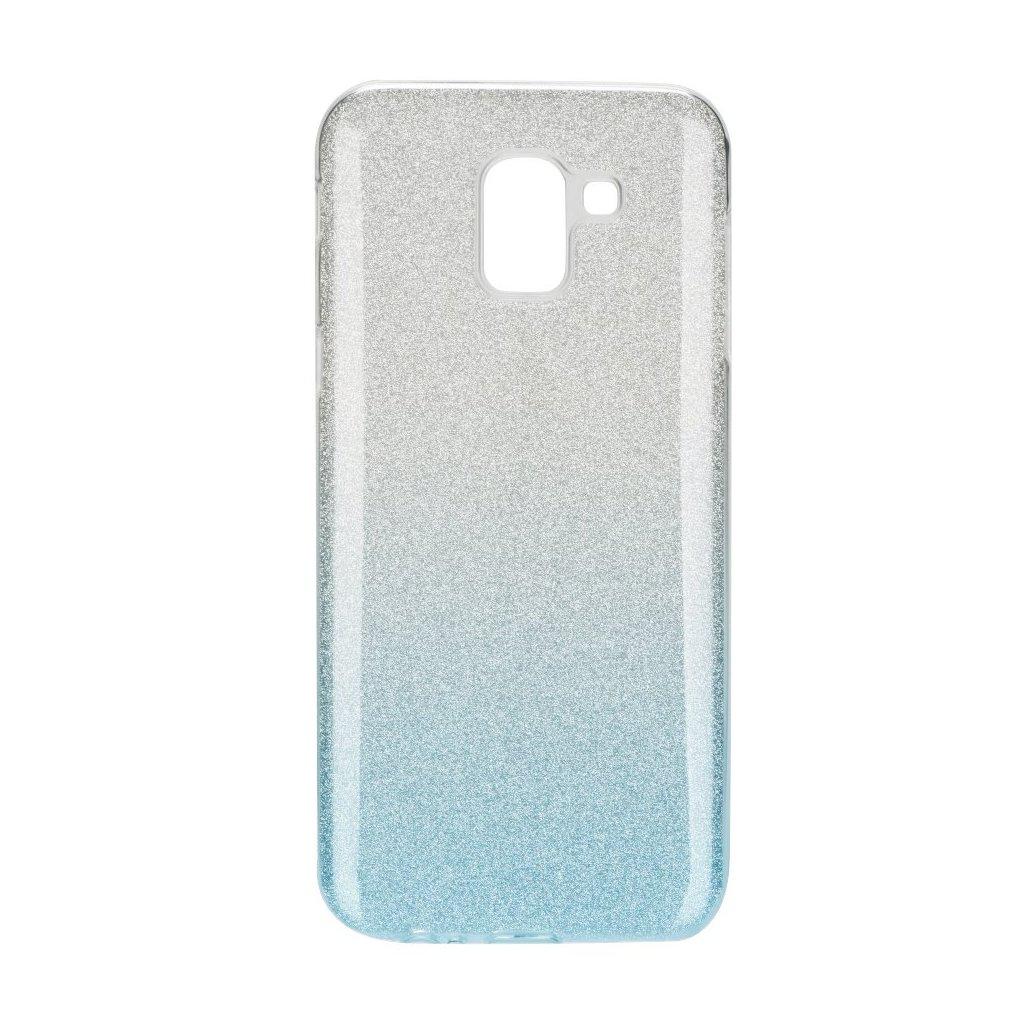 81334 pouzdro forcell shining samsung galaxy j6 2018 transparentni modre