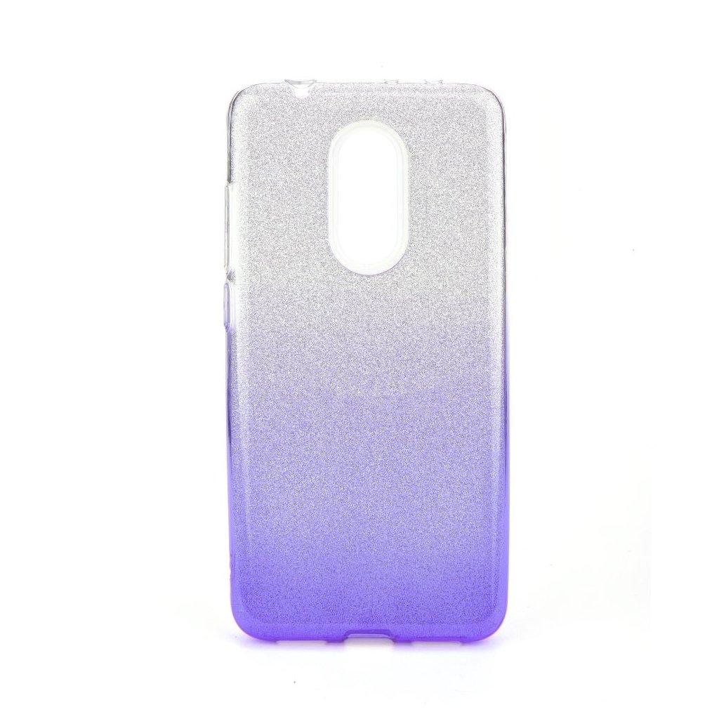 82242 pouzdro forcell shining xiaomi redmi 5 transparentni fialove