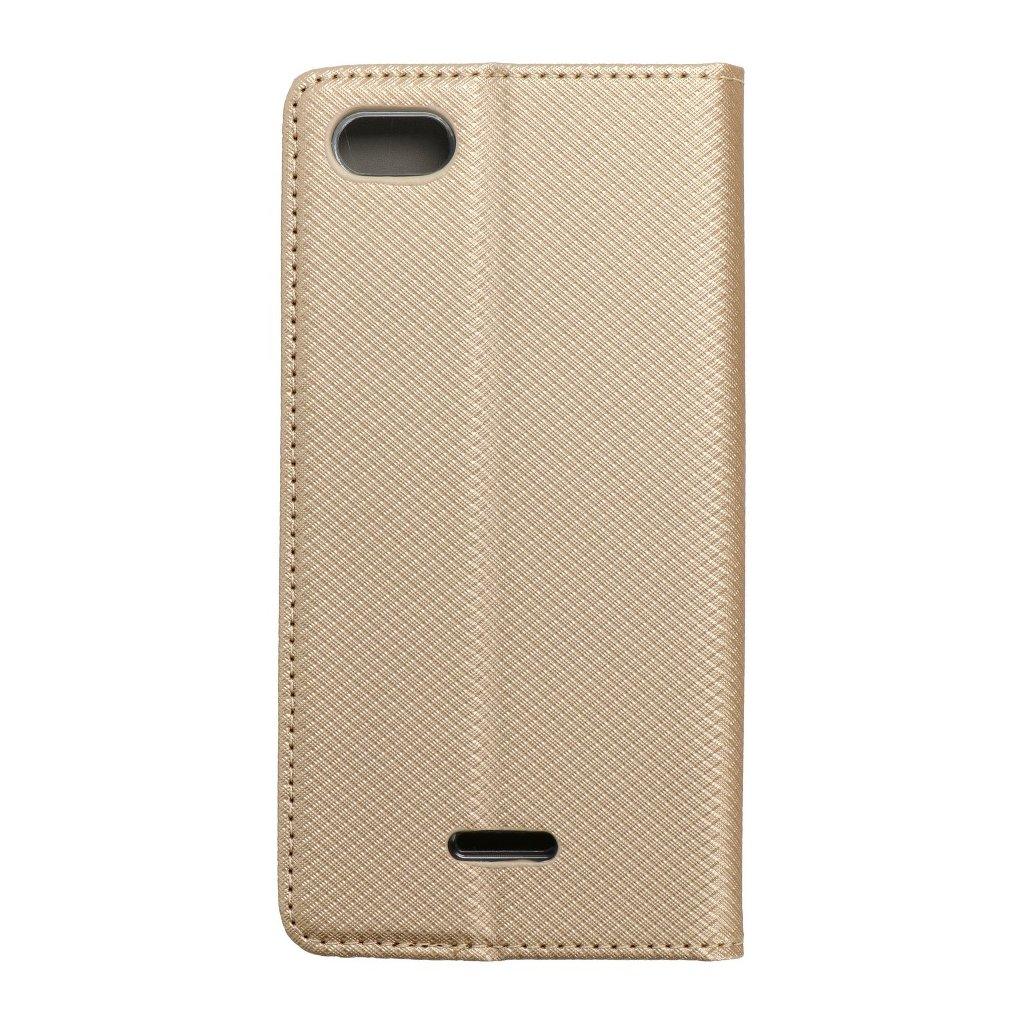 93081 1 pouzdro forcell smart case xiaomi redmi 6a zlate
