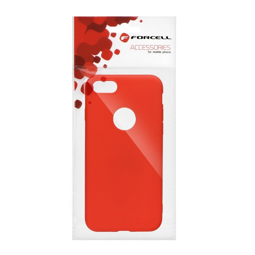 Pouzdro Forcell SOFT Apple Iphone 6/6S červené