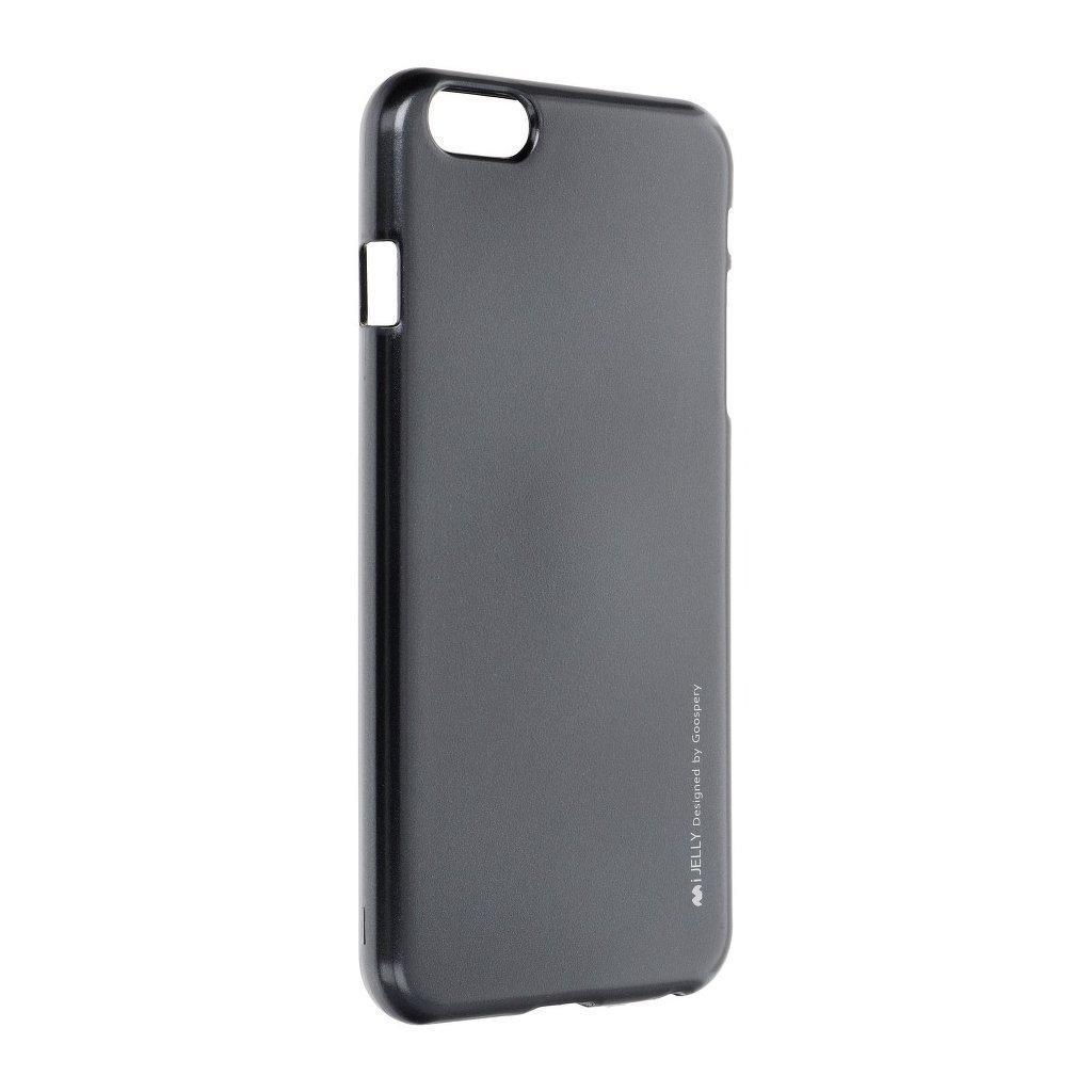 36858 2 pouzdro i jelly mercury goospery pro apple iphone 6 6s plus cerne