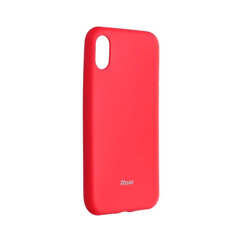 74138 3 pouzdro roar colorful jelly case apple iphone x broskvove