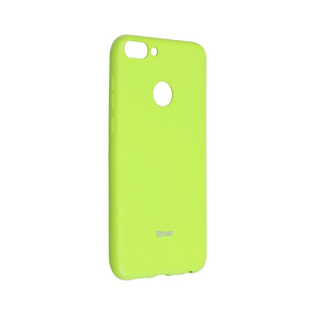 75296 3 pouzdro roar colorful jelly case huawei p smart enjoy 7s limonka