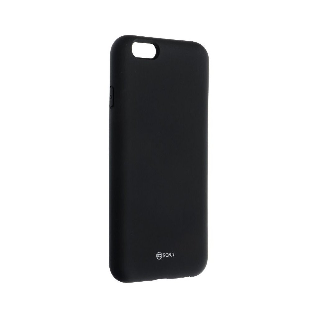 33364 1 pouzdro roar colorful jelly case apple iphone 6 6s cerne