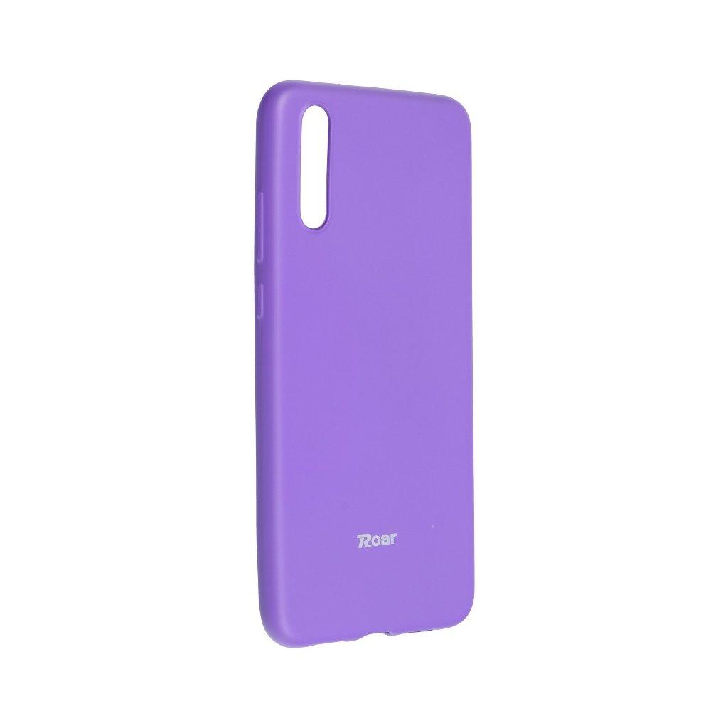 80495 3 pouzdro roar colorful jelly case huawei p20 fialove