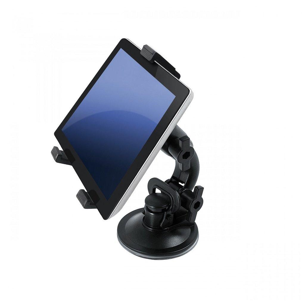 """Univerzální držák na tablet do auta 7 """" - 10 """" (2in1) - černý"""