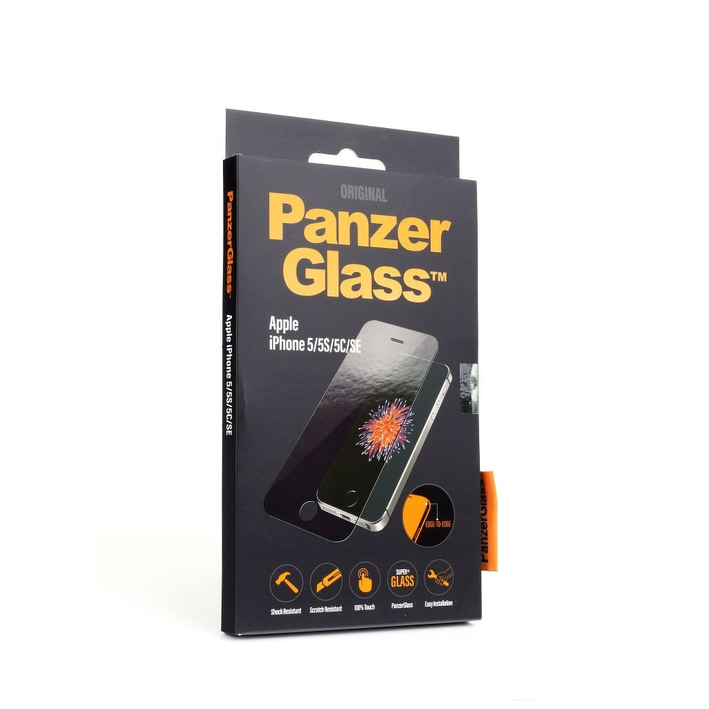 113531 tvrzene sklo panzerglass apple iphone 5 5s se edge to edge