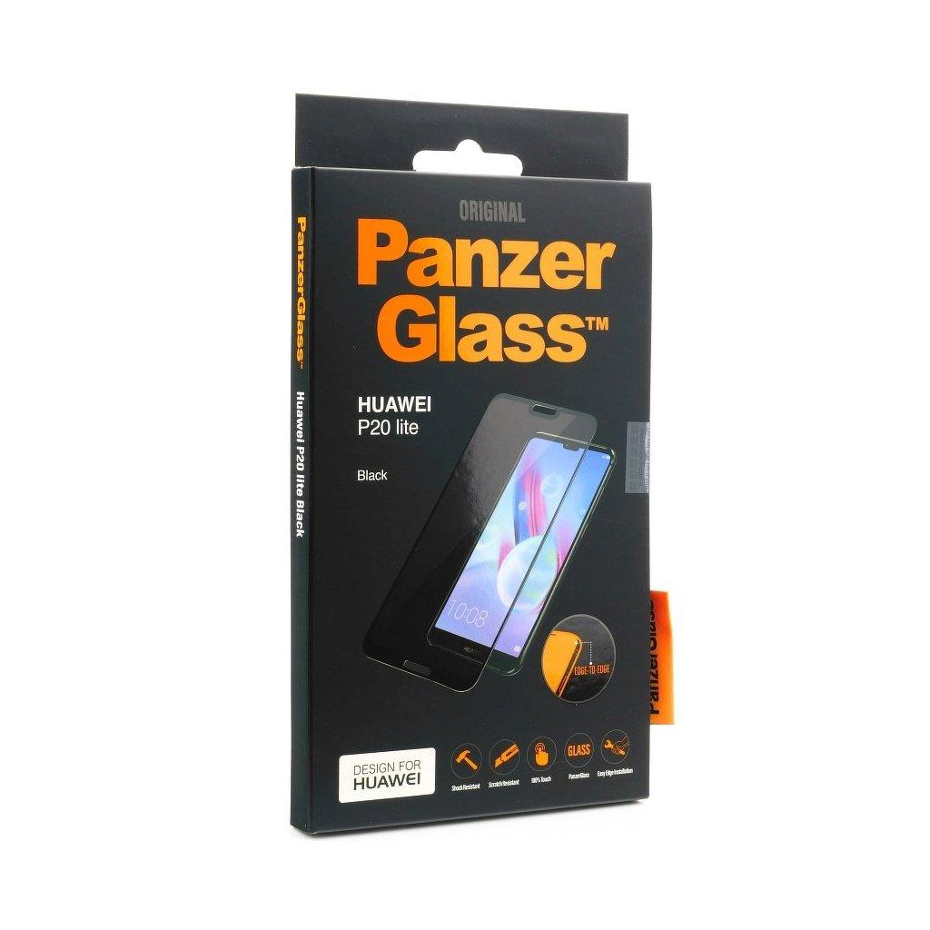 113558 tvrzene sklo panzerglass huawei p20 lite black edge to edge