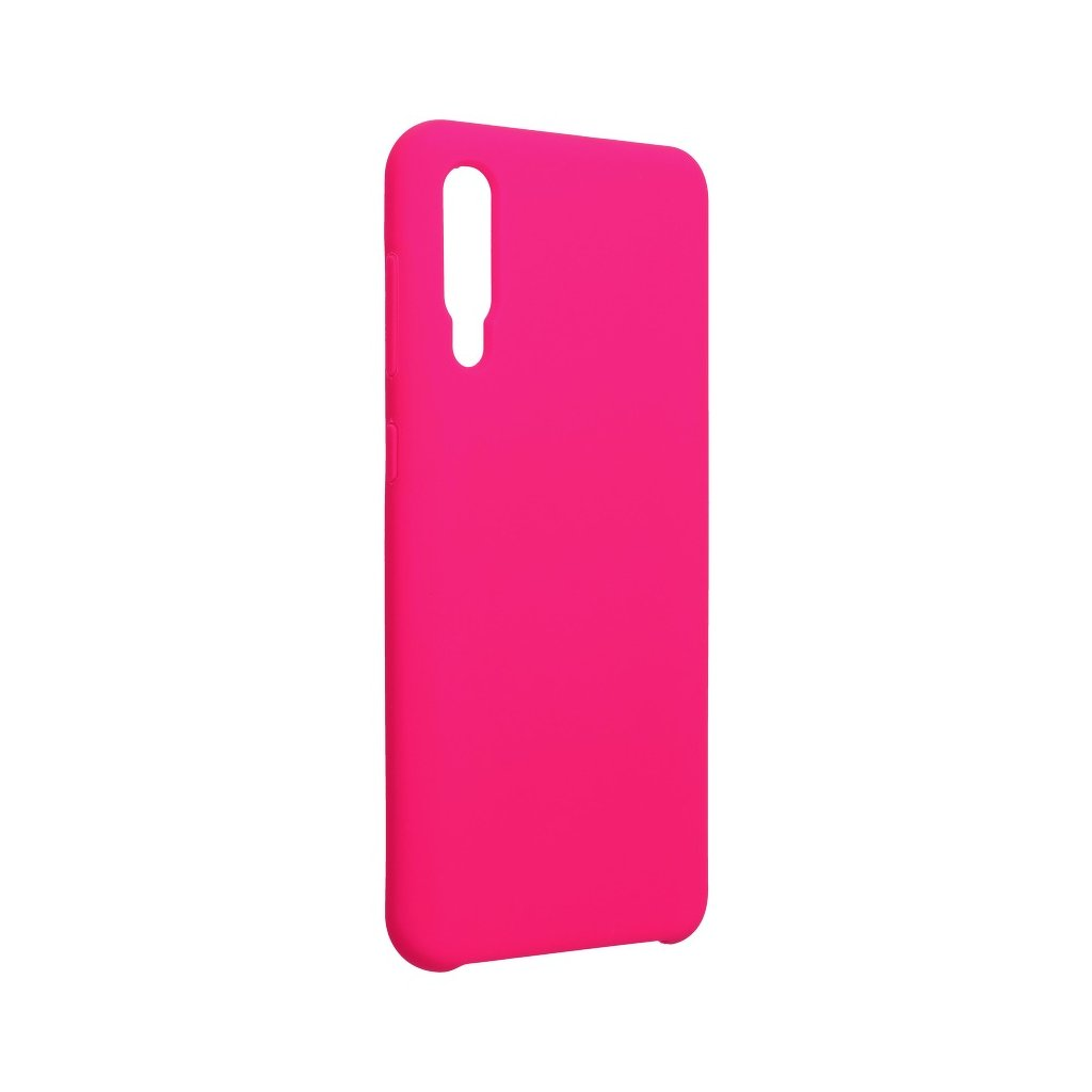 119291 pouzdro forcell soft touch silicone samsung galaxy a50 ruzove