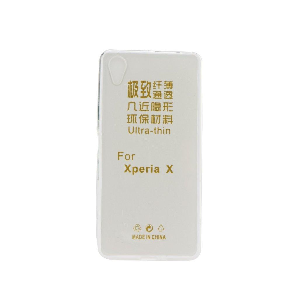 129353 1 pouzdro back case ultra slim 0 3mm sony xperia 10 transparent