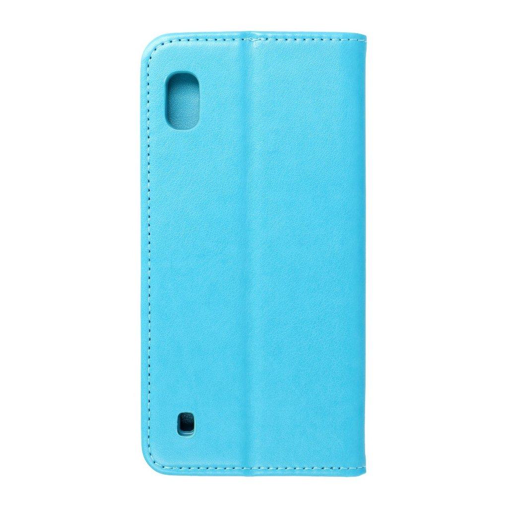 132146 4 pouzdro magnet flip wallet book samsung galaxy a10 svetle modre