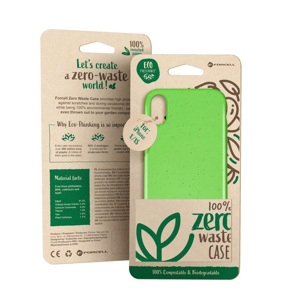 148802 pouzdro forcell bio zero waste case huawei p30 lite zelene