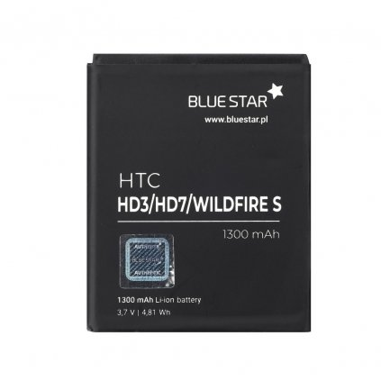 25288 baterie blue star htc hd3 hd7 wildfire s 1300 mah