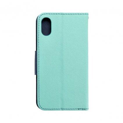 68469 1 fancy pouzdro book apple iphone x matove granatove