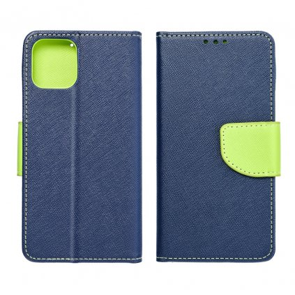 92304 2 fancy pouzdro book huawei y7 prime 2018 modre limetkove