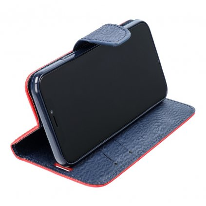 36246 1 fancy pouzdro book samsung j320 galaxy j3 2016 modro cervene