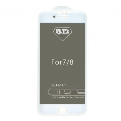 71358 1 forcell tvrzene sklo 5d full glue pro apple iphone 7 8 4 7 privacy bile