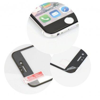 68759 2 forcell tvrzene sklo 5d hybrid full glue glass apple iphone 6 6s 4 7 cerne