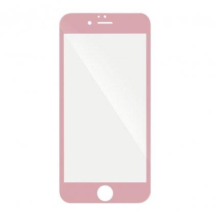 68762 2 forcell tvrzene sklo 5d hybrid full glue glass apple iphone 6 6s 4 7 ruzove