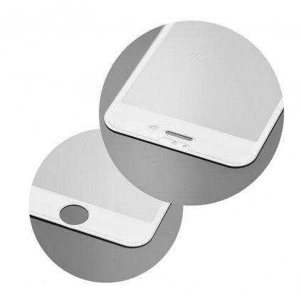 68744 2 forcell tvrzene sklo 5d hybrid full glue glass apple iphone 7 8 4 7 bile